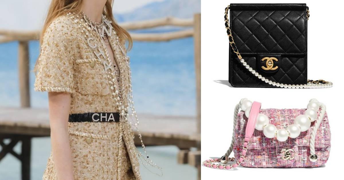 香奈兒女士:「沒有珍珠的女人不能稱為女人!」今夏Chanel都換上珍珠細節