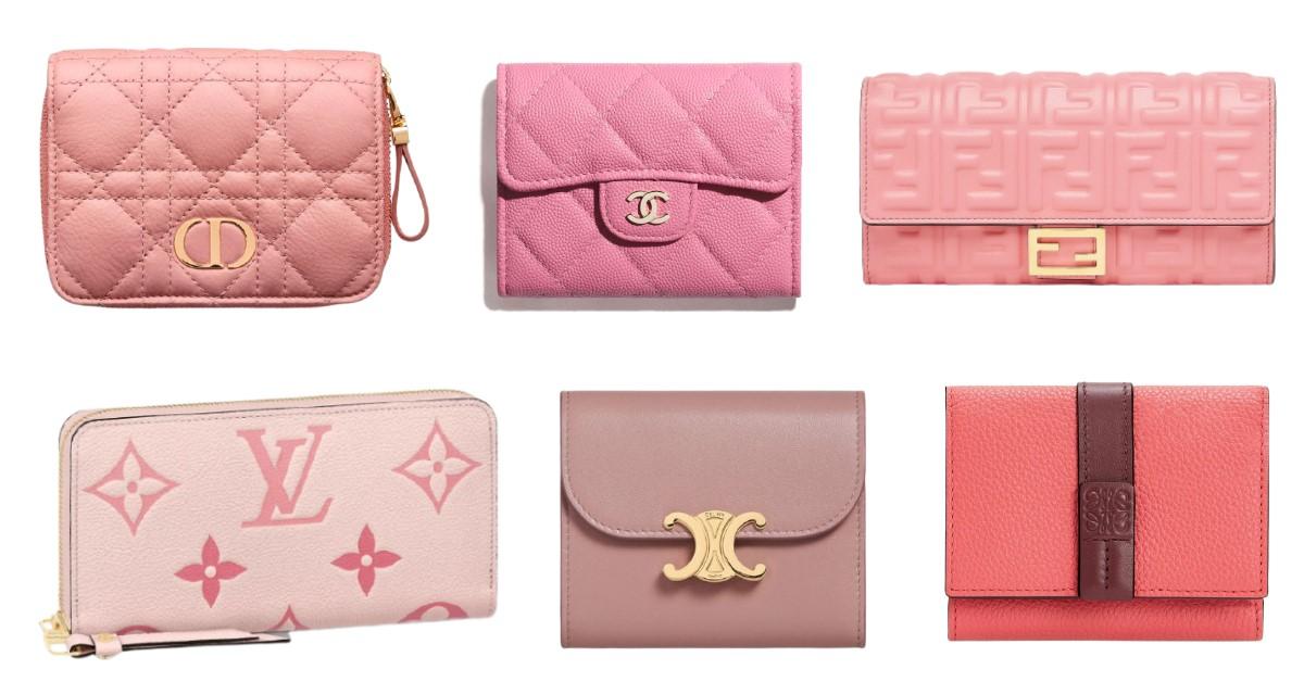 2021皮夾推薦「粉嫩系」Top 10!Chanel、LV、Gucci...Celine Triomphe櫃上詢問度超高!