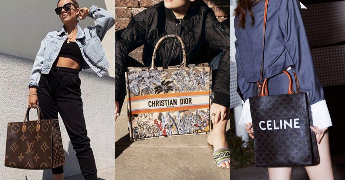 2020年最夯包包推薦!腰包Out改流行「托特包」,LV、Dior、Celine...新款必買