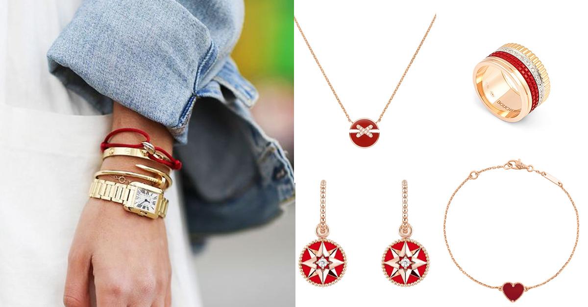 珠寶趨勢關鍵字是 「紅色」!卡地亞、寶格麗、迪奧...10款「紅色珠寶」讓妳2021年好運不間斷