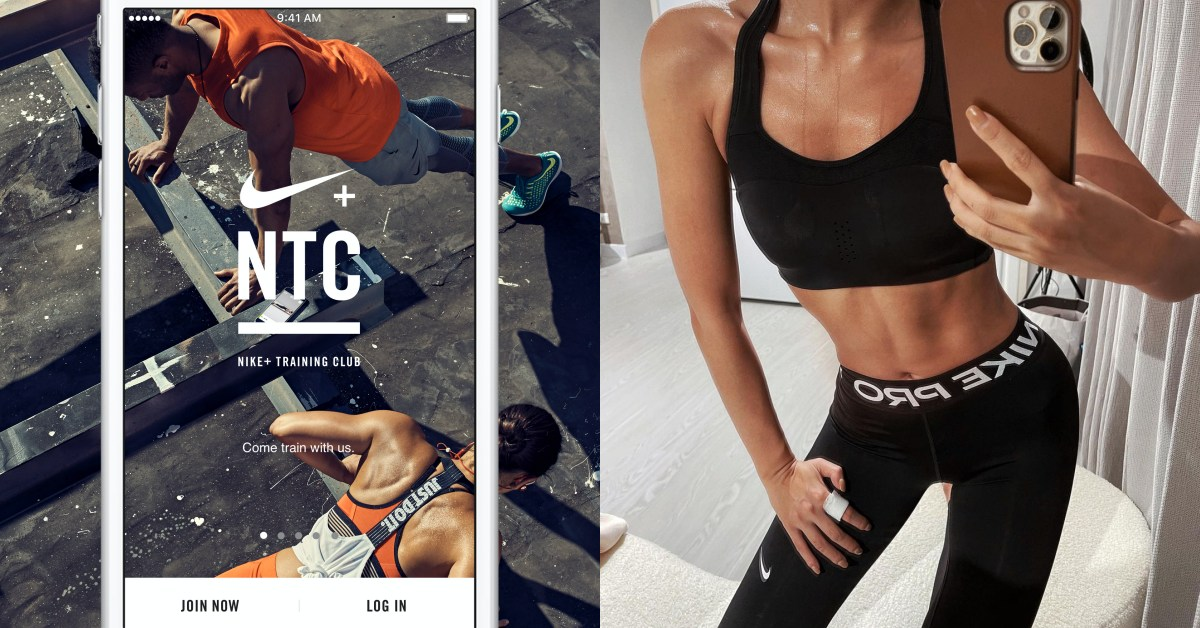 Nike NTC居家運動5大特點!超過100種課程 ,莫莉瘦身「川字肌」也是靠它