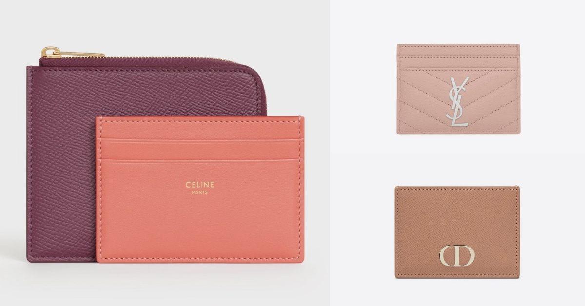 精品卡夾推薦Top10!LV、BV、Dior 到Fendi搶推 「粉色」 ,時髦、財運一次到手