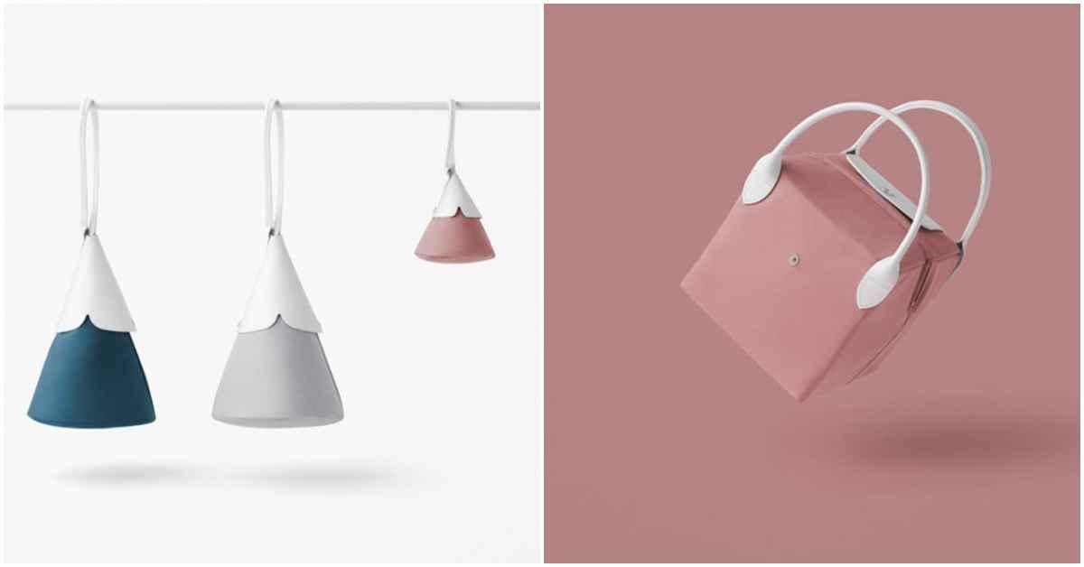 怎麼扭都可以!日本Nendo與Longchamp聯名推出趣味「幾何包」
