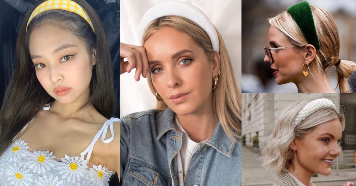 2020春夏髮型必備「法式髮箍」3分鐘變換5種造型,居家懶人也能時髦不失禮!
