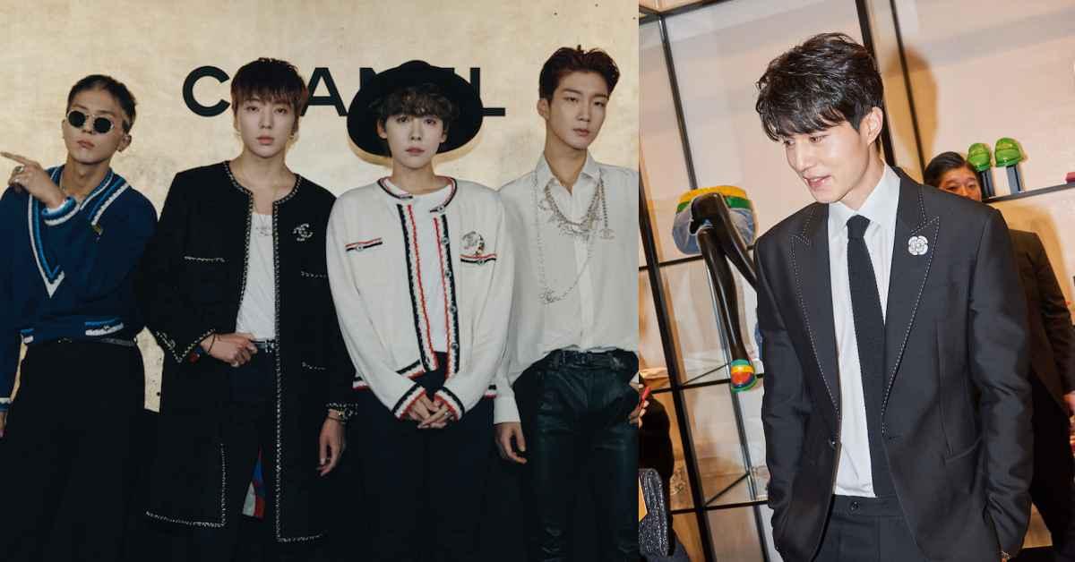 蕭敬騰、菲董到韓星Winner、李棟旭,原來男生穿香奈兒可以這麼帥!
