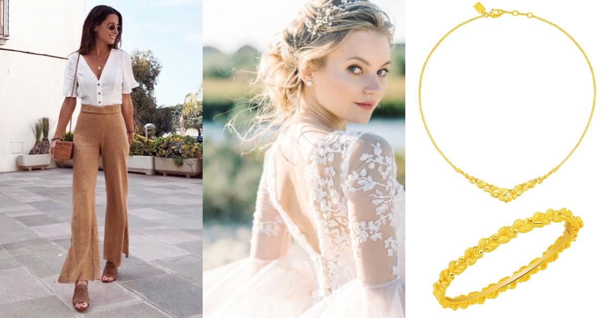 結婚金飾也可以化身日常時尚配件?奢華風格已經過時了,「這種」款式才是真流行