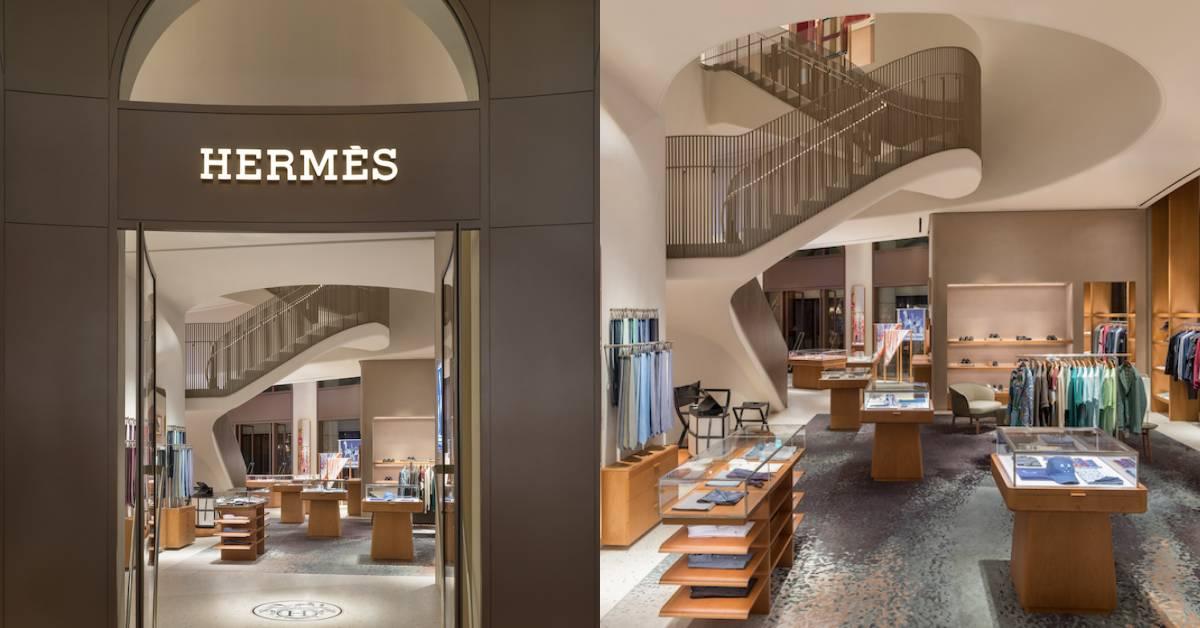 Hermès旗艦店Bellavita開幕!台灣之光紙雕作品優雅登場,全球只有這裡有!