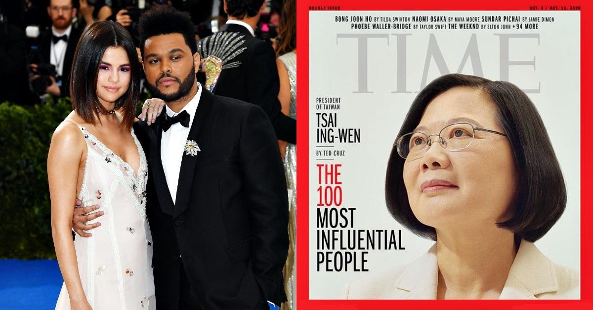 《TIME》時代雜誌2020百大風雲人物出爐!賽琳娜與昔日愛侶雙入榜,網友問:「有BLACKPINK嗎?」