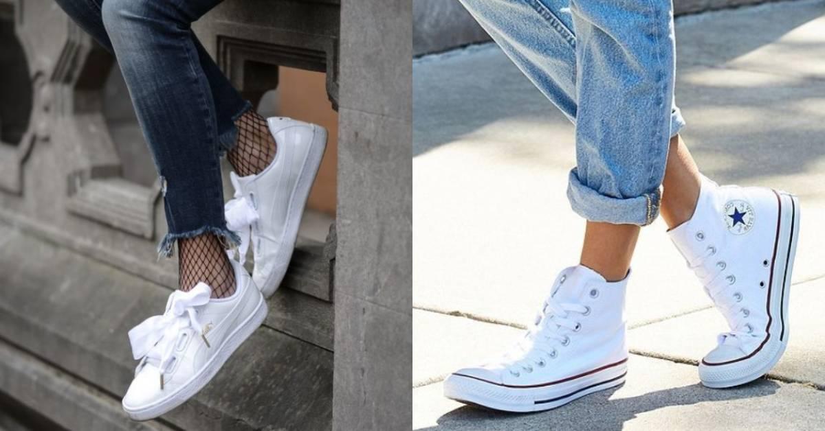6 個品牌白鞋搭出運動、休閒、優雅及自我風格,穿不住高跟鞋又怎樣?
