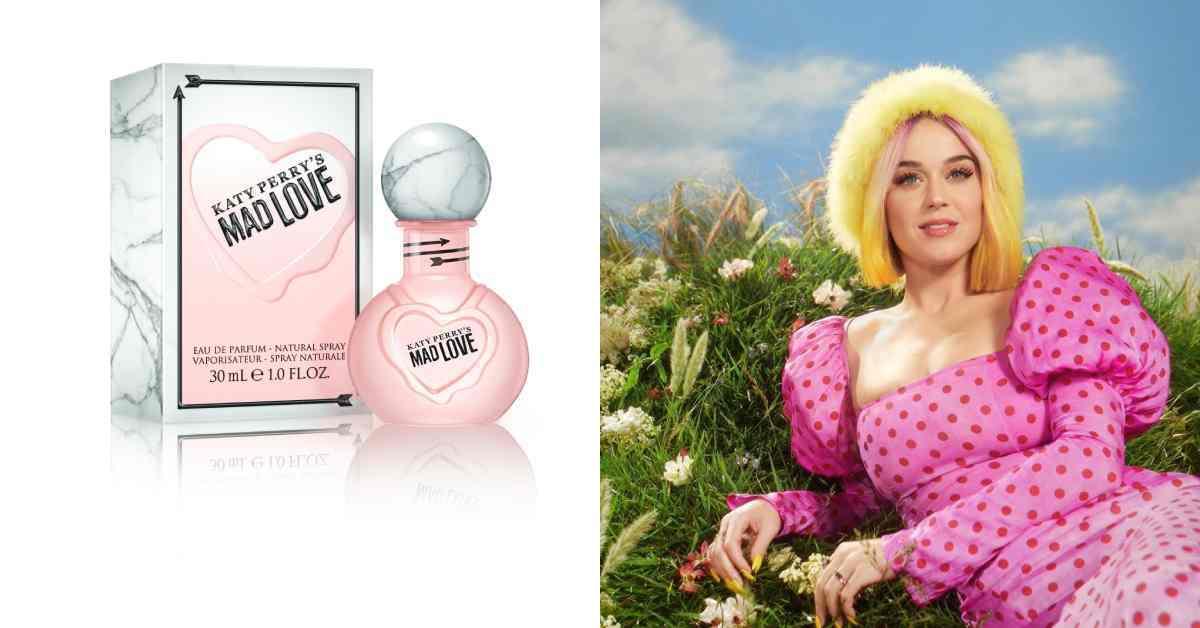 聖誕節交換禮物推薦!凱蒂佩芮《MAD LOVE 》愛瘋狂香水,粉紅瓶身讓你甜美整個耶誕