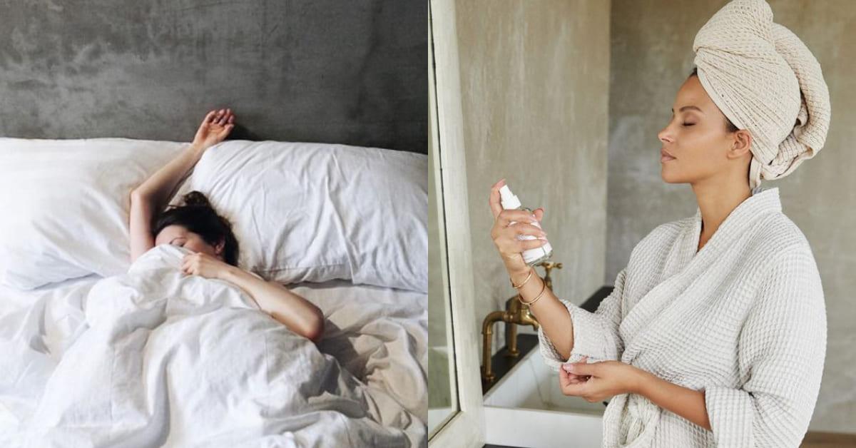 80%肌膚乾燥來自睡不好!10款助眠美容保養小法寶,讓你一覺醒來擁有絕世美肌