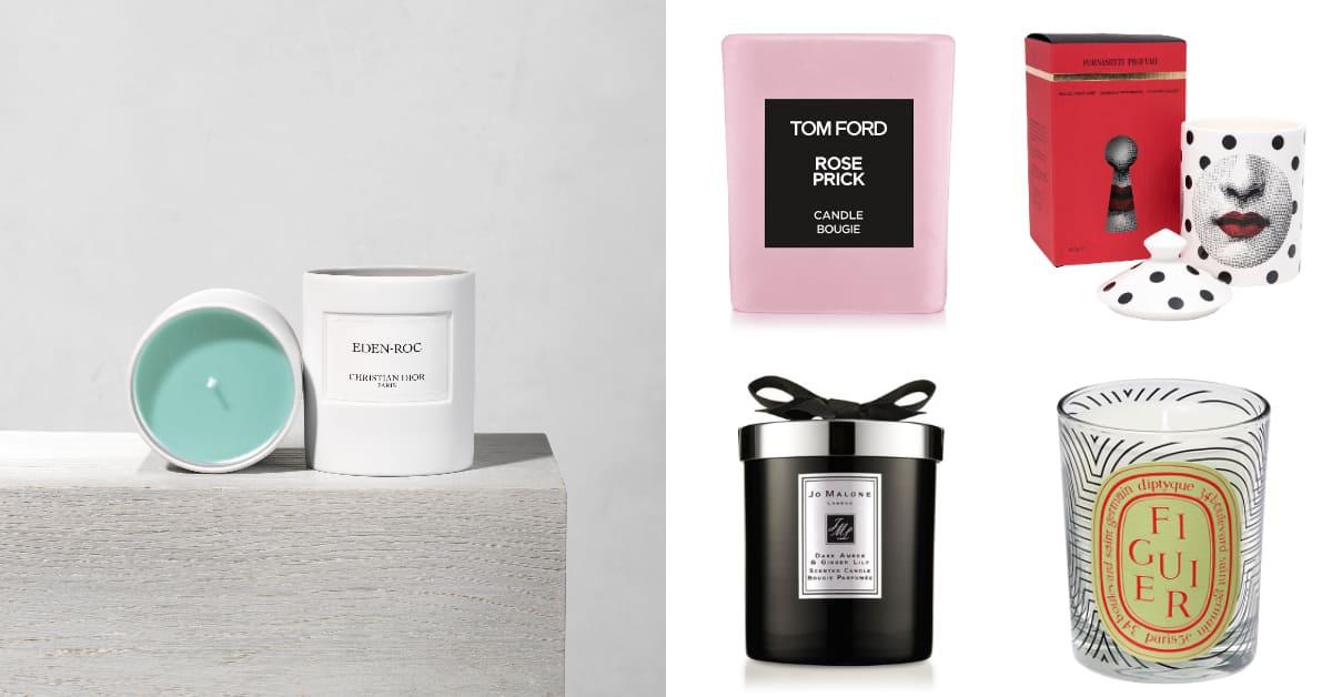 香氛蠟燭推薦10款!Dior、Jo Malone、Diptyque…防疫居家需要點正面能量 ,Tom Ford這款上架就秒殺!