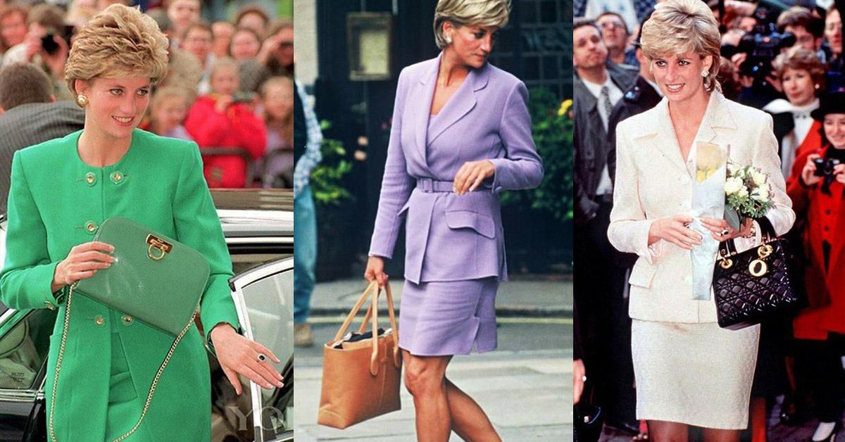 黛妃才是「帶貨女王」始祖!這3款被她揹紅的包至今依舊熱賣