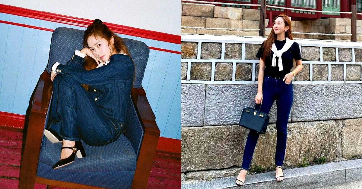 牛仔褲穿搭必備5件單品!Jessica顯瘦、逆天長腿秘訣大公開!