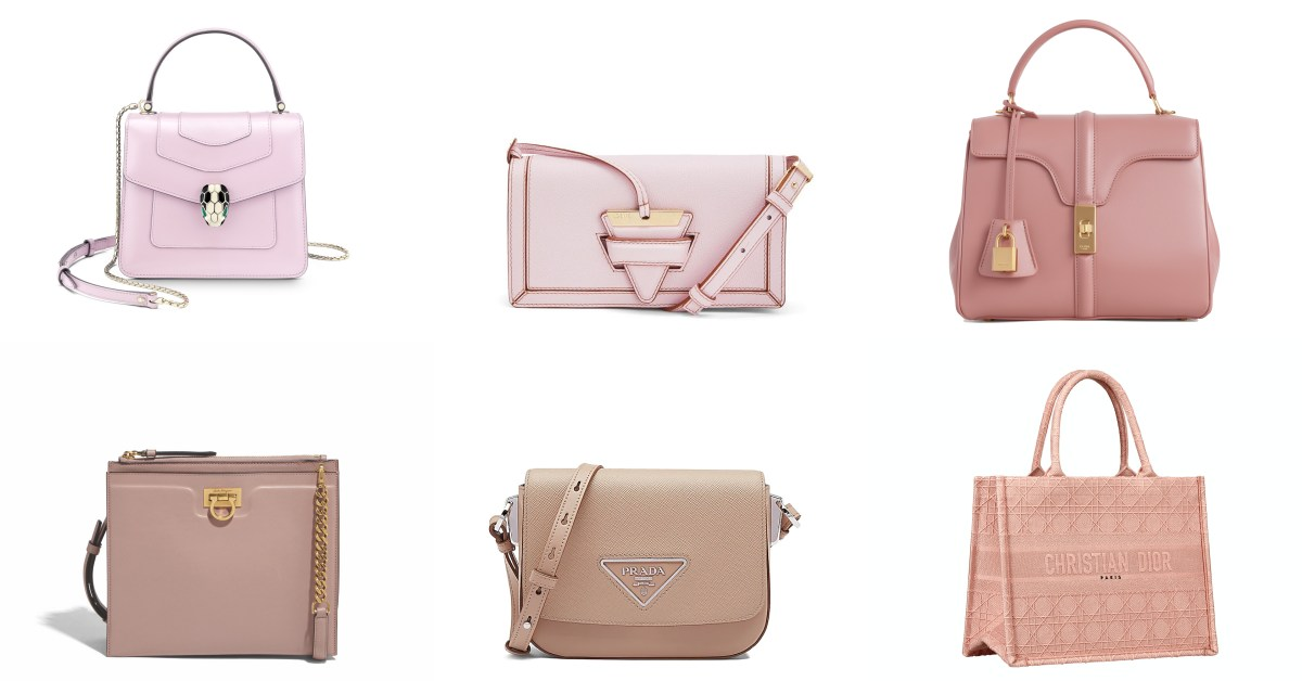 Loewe、Celine、Bvlgari...這「10款」粉色夢幻包太迷人,用行動支持國際粉紅日