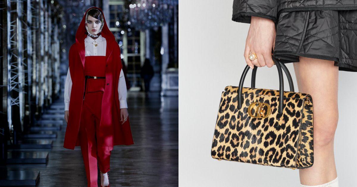 Dior蒙田包穿上豹紋!2021秋冬系列5大重點,珍珠配飾絕對大賣