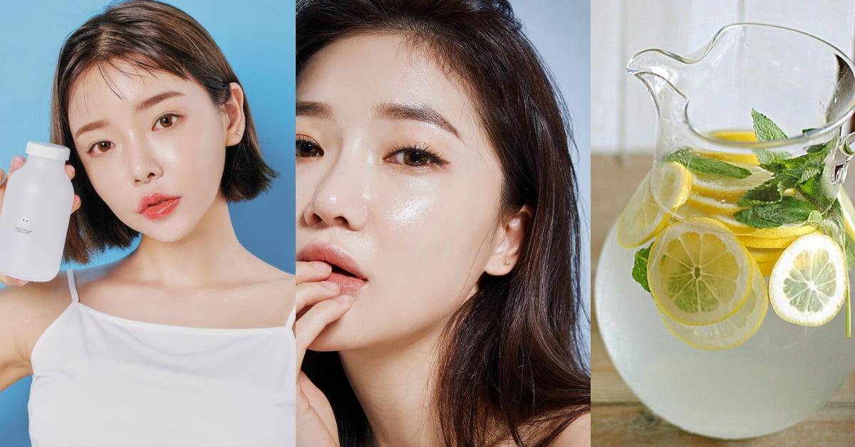 夏天美白保養要少不能多!韓國超夯「輕食系養肌法」,只需2步驟7天白三階