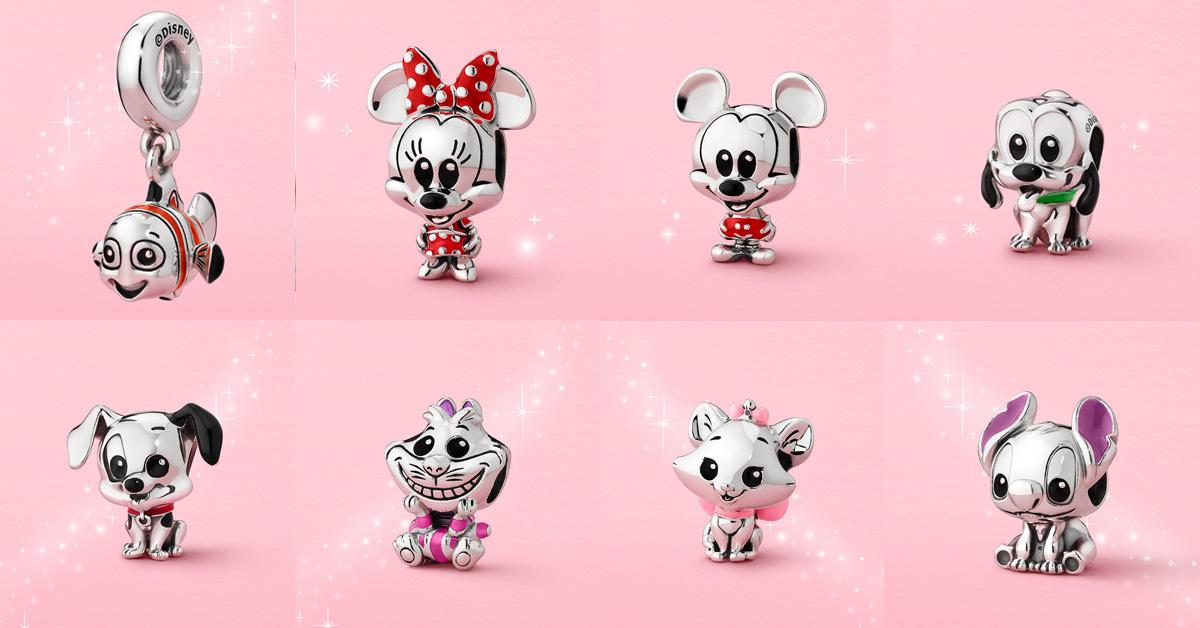 迪士尼控手刀衝啊!Pandora首推8大經典卡通吊飾,米老鼠、史迪奇到101忠狗每款萌到燒心