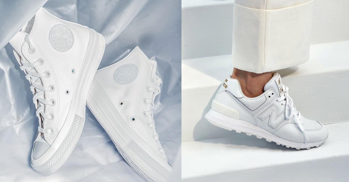 小白鞋推薦這15款!Nike、Adidas、New Balance....2021美腿神器一次看!
