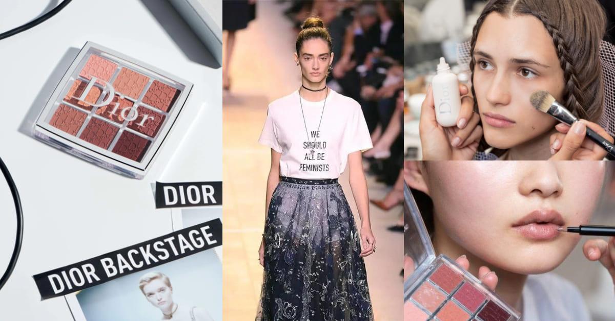 【妝同學上課6】Dior專業後台彩妝為何是透明的?埋藏近70年秘密竟源自秀場VIP小禮物...