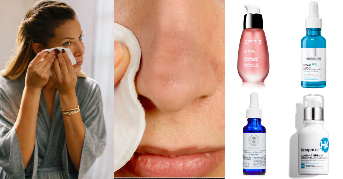 清完粉刺保養怎麼做?敷面膜退紅反而造成爛臉?5款「熱敷精華」推薦,舒緩肌膚不造成二次傷害