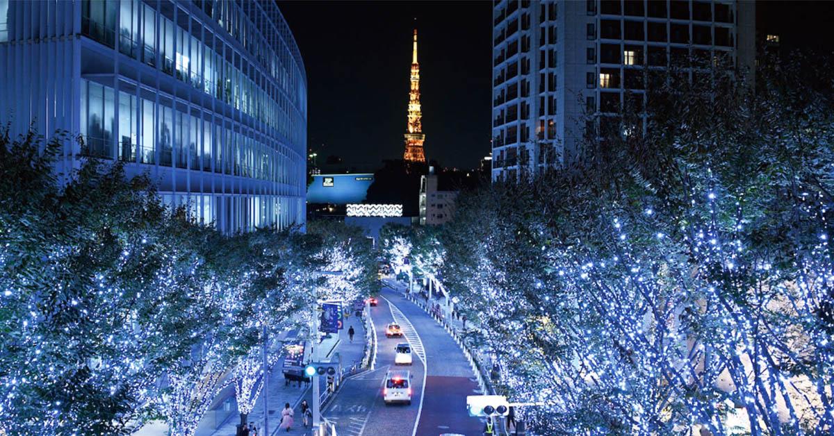 來去日本過聖誕節!東京、大阪這5處聖誕燈海好夢幻