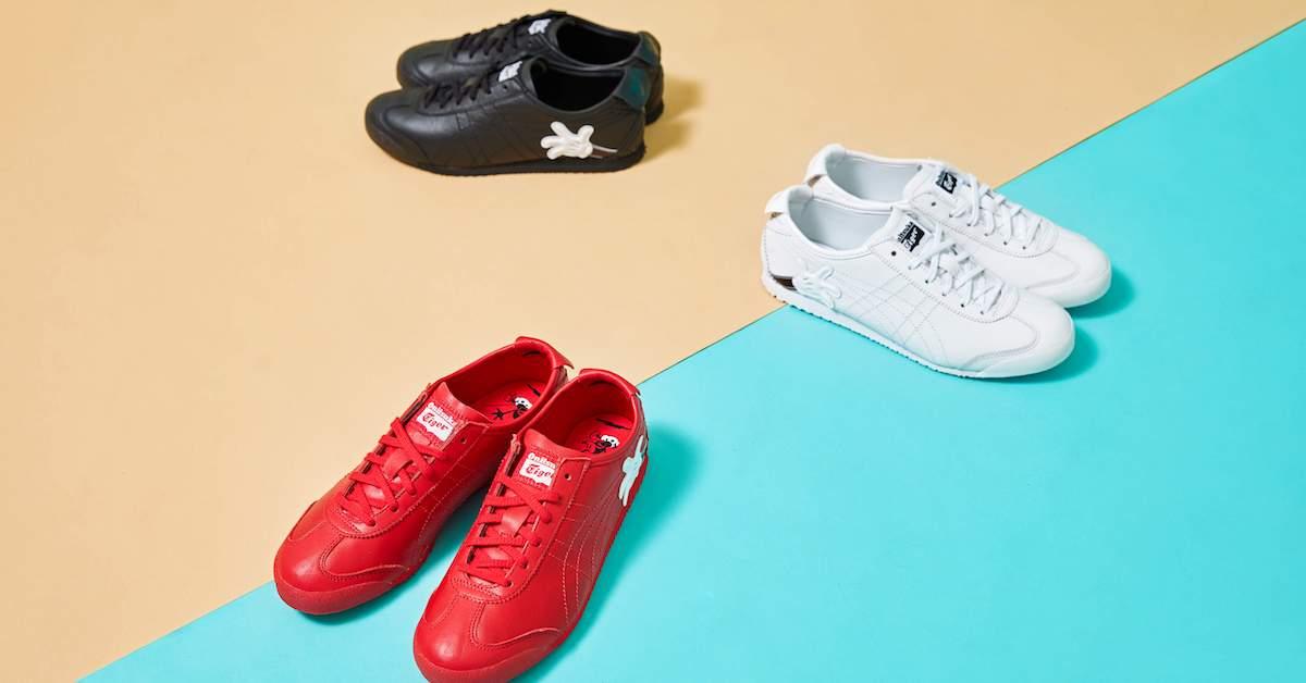 賣萌無極限,編輯開箱!Onitsuka Tiger 攜手迪士尼讓經典鞋款變得超可愛!