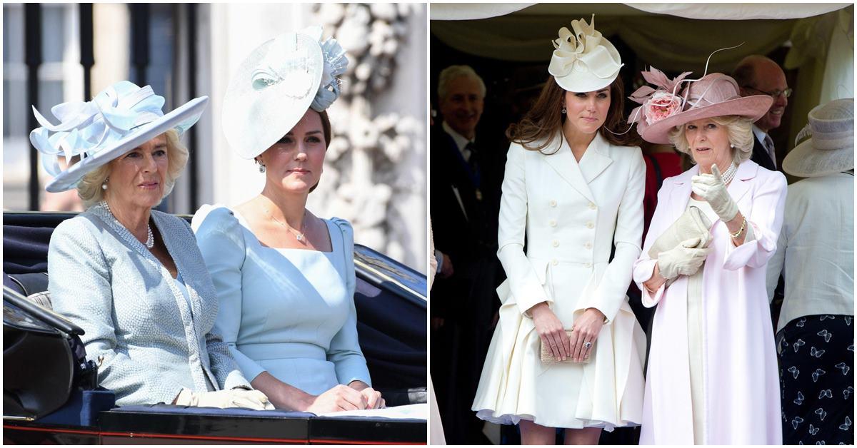 達不到標準,婆婆卡米拉曾介入勸分手?看凱特王妃面對過的這3個英國皇室婆媳問題!