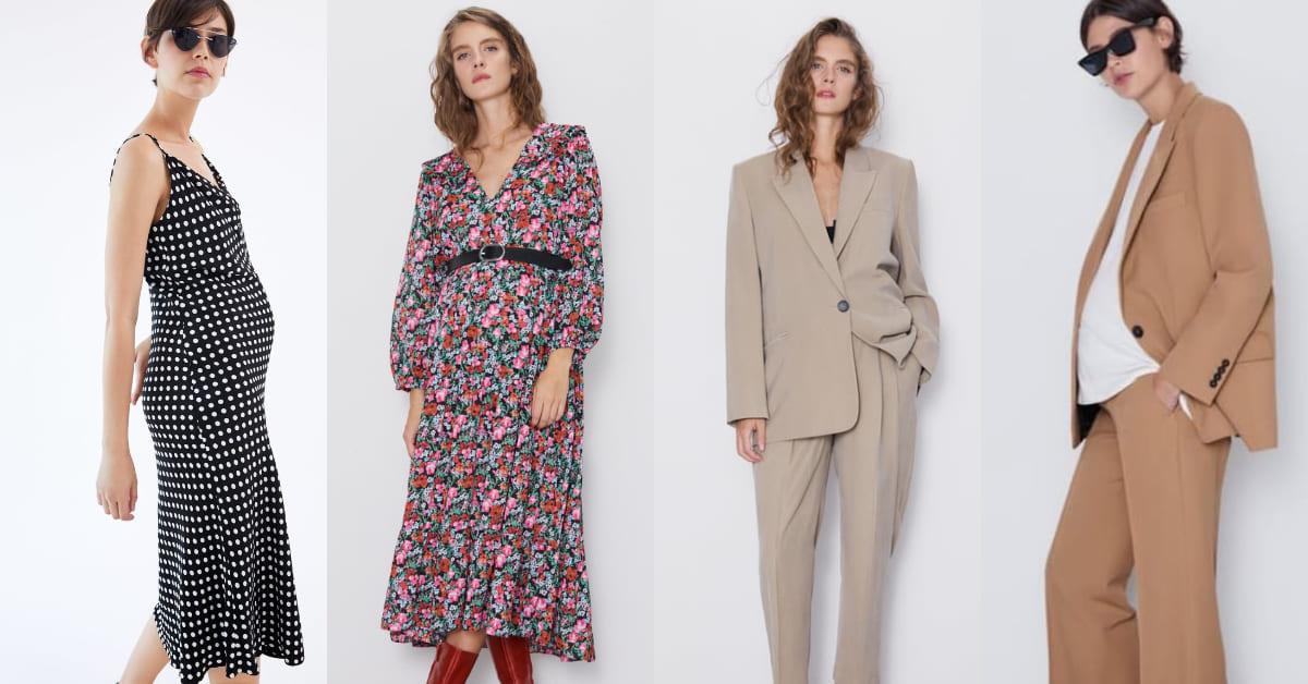 ZARA推出全新孕婦裝系列!孕媽咪、大尺碼女孩也能用快時尚打造流行穿搭