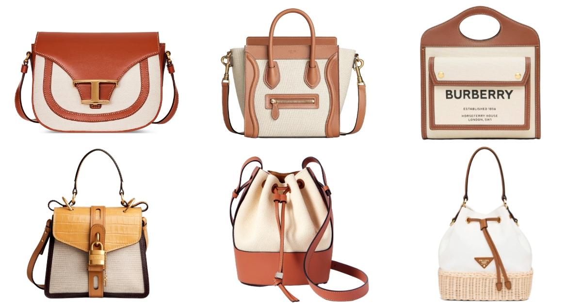 2020春夏老花包OUT!7款極簡帆布包推薦,Coach拼接包最實用、Celine囧臉包時髦客最愛