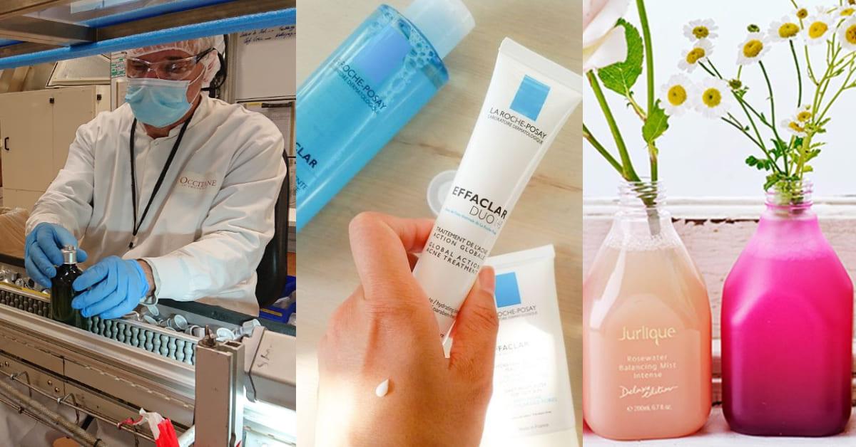 歐舒丹、理膚寶水乾洗手銷量倍增!美妝品牌大翻身,防疫保養擠下彩妝成主流?
