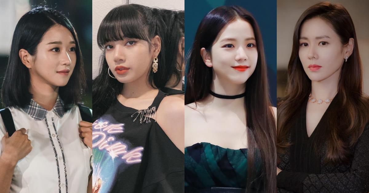 世界最美女星排行榜Top10!孫藝珍輸給徐睿知,BLACKPINK Lisa、Jisoo你猜誰奪冠?
