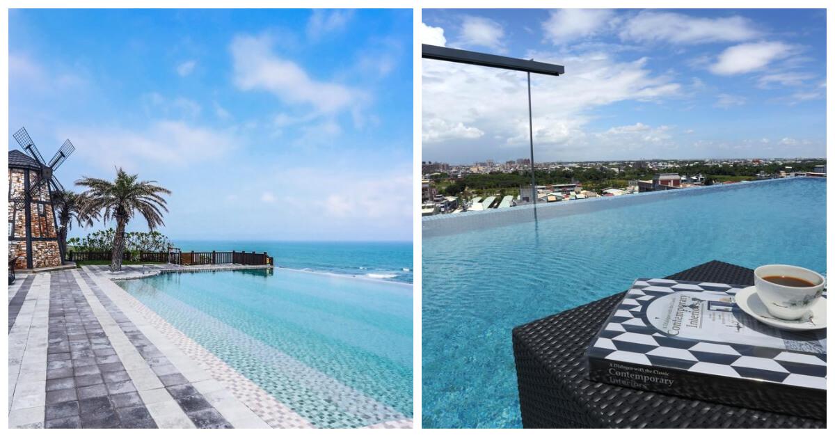 海天一線的美景太驚人了!特搜7間台灣無邊際泳池飯店,不用出國就能拍個夠
