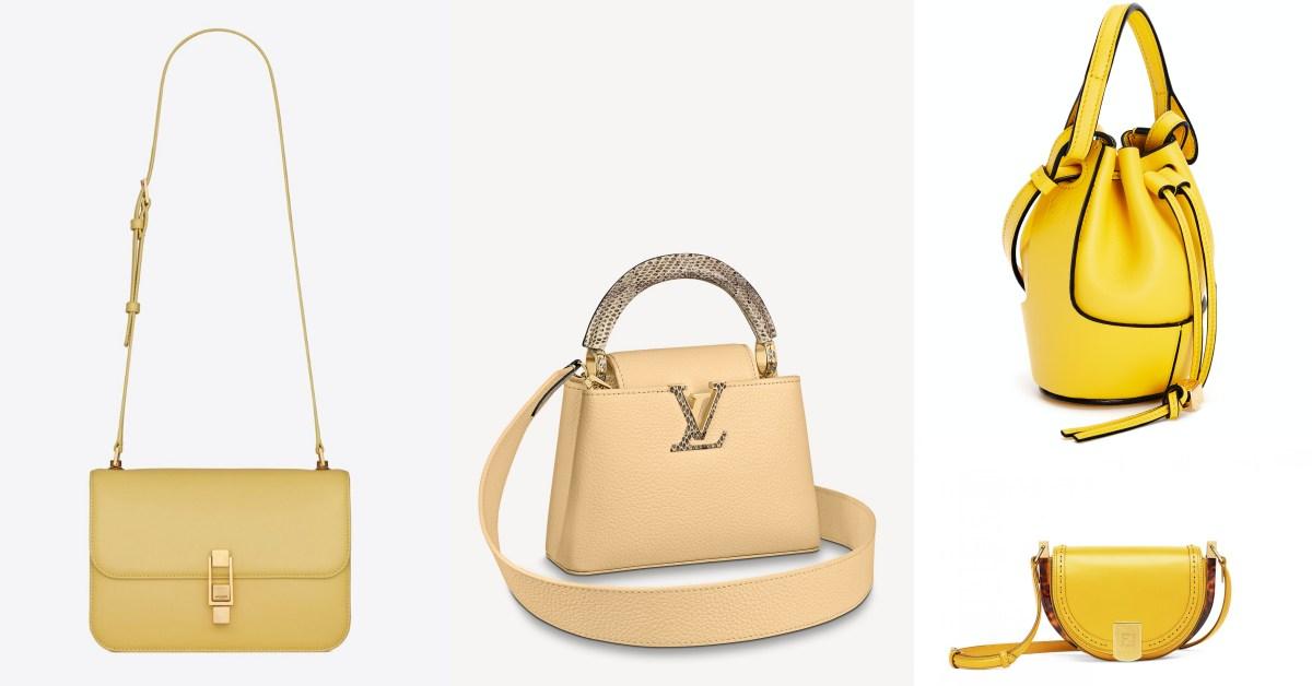2021包包推薦「檸檬黃」Top10!BV、Loewe、YSL...Fendi半月包比萊姆更可口!