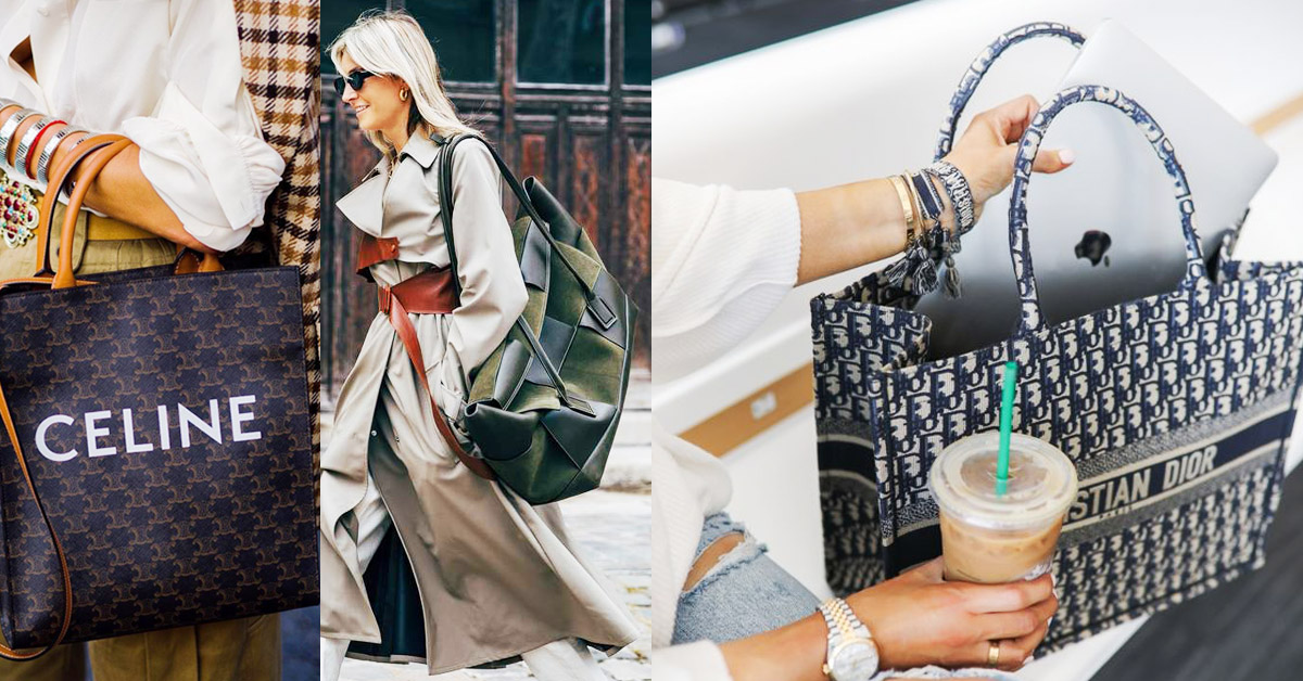 2020「托特包」Top 5新款推薦!LV、Dior、BV...尺寸要大還要好看!