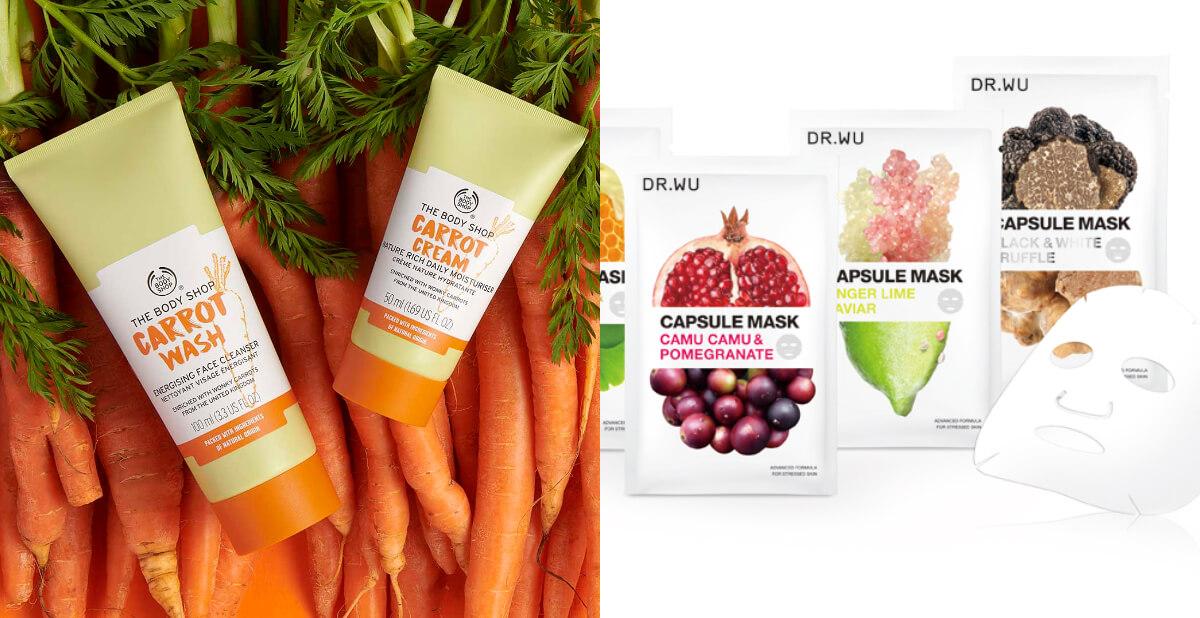 夏天面膜、沐浴乳推薦!香蕉、胡蘿蔔做的保養品,是給肌膚吃的「超級食物」
