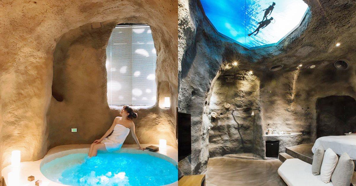 台中人都知道的最潮旅店!《鳥人創意旅店》就像在國外「地窖房」、「沙漠系帳逢」每個角落都好拍