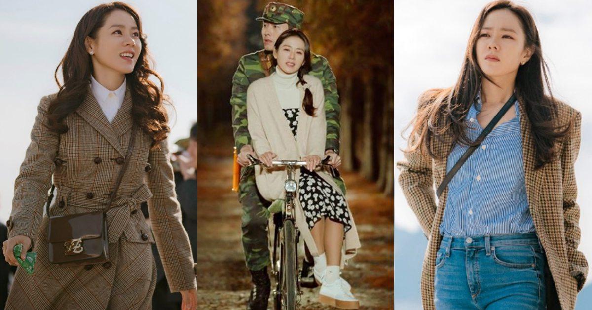看《愛的迫降》學穿搭!格紋西外、針織開襟衫、雙排釦大衣...孫藝珍大地色造型揭密