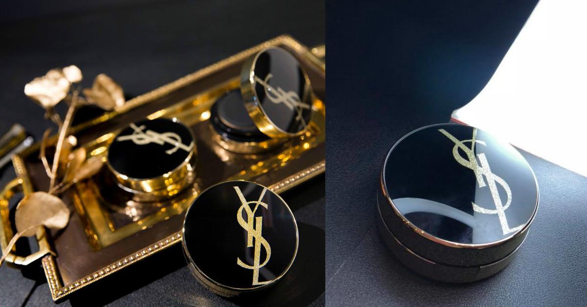 每一次補妝,都很值得炫耀!YSL黑金氣墊推出經典LOGO限量版,拿出來就是時尚!