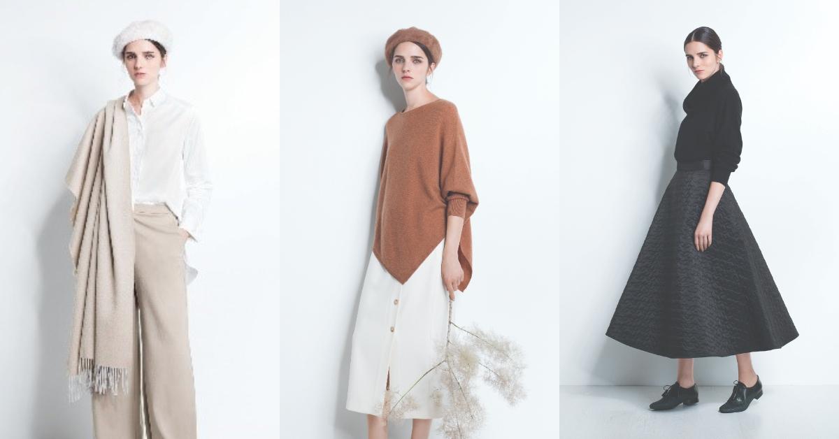 秋冬溫柔小姊姊必備!超仙喀什米爾羊毛衣、圍巾選對讓每日質感大升級