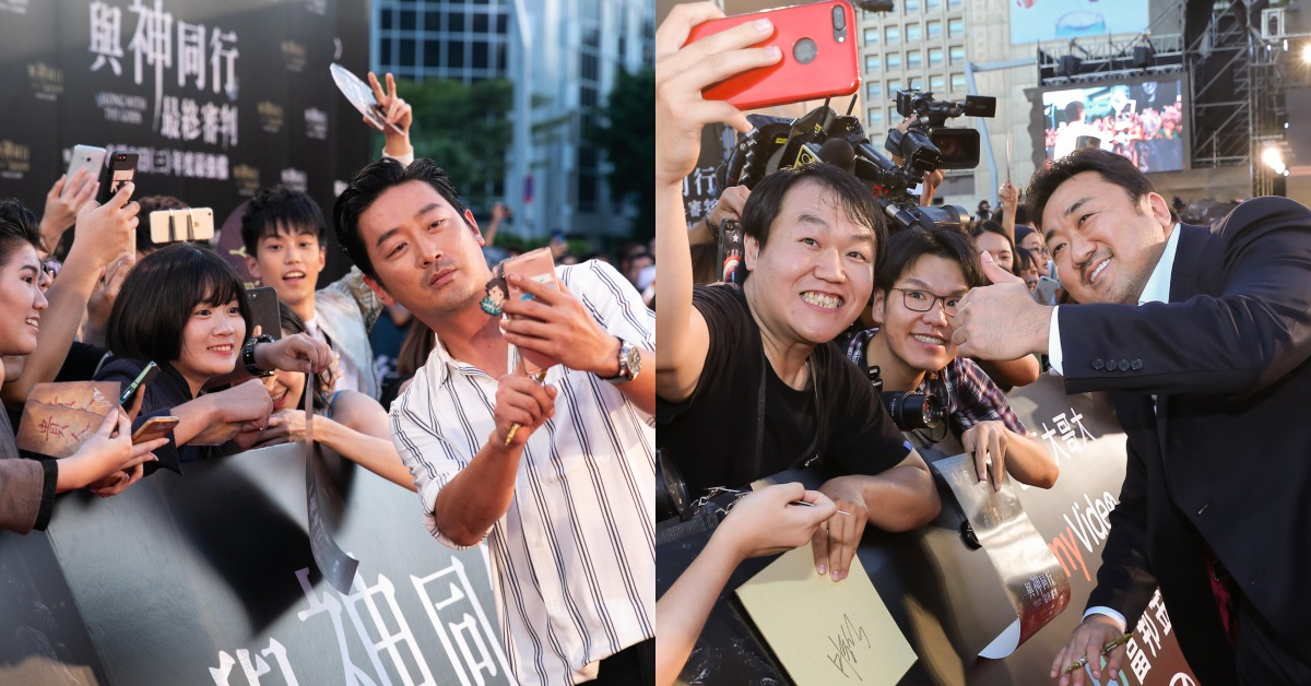 問記者們吃早餐沒、簽名拍照來者不拒!河正宇、朱智勳、馬東石等「這些」行為超圈粉~