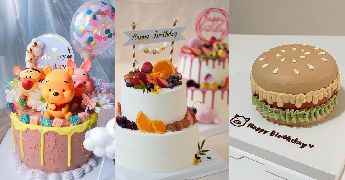 寶寶生日蛋糕特搜!全台6間私人甜點店推薦,用專屬蛋糕製造特別回憶吧!