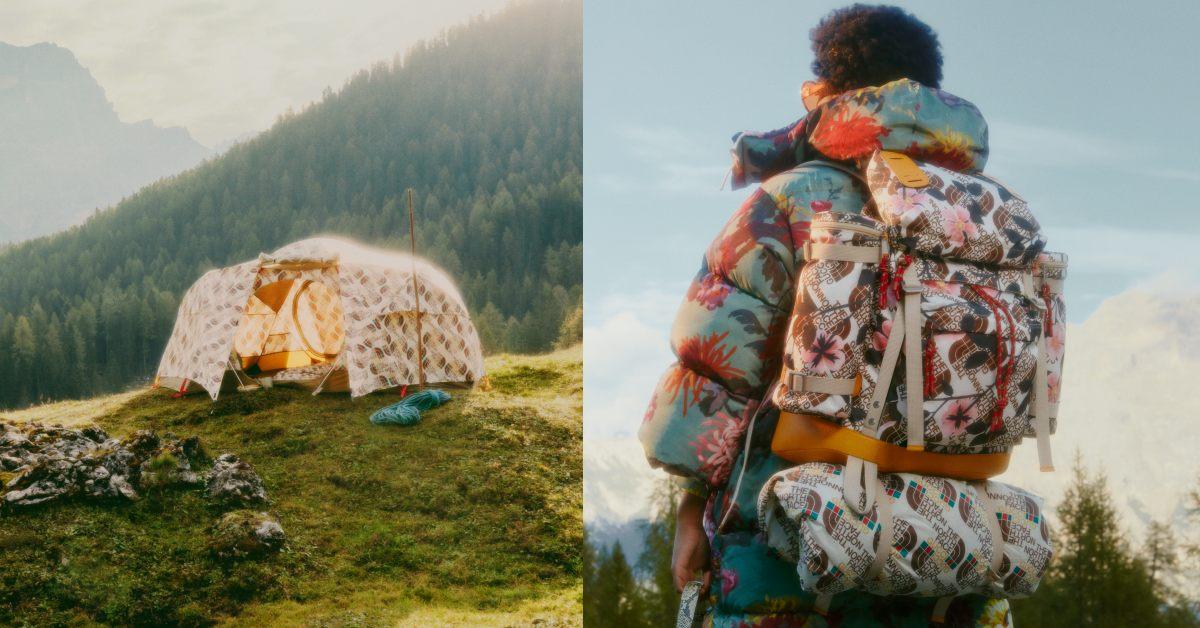 Gucci包包沒有這個夯 !聯名The North Face出登山靴、帳篷、睡袋,不爬山的也想搶