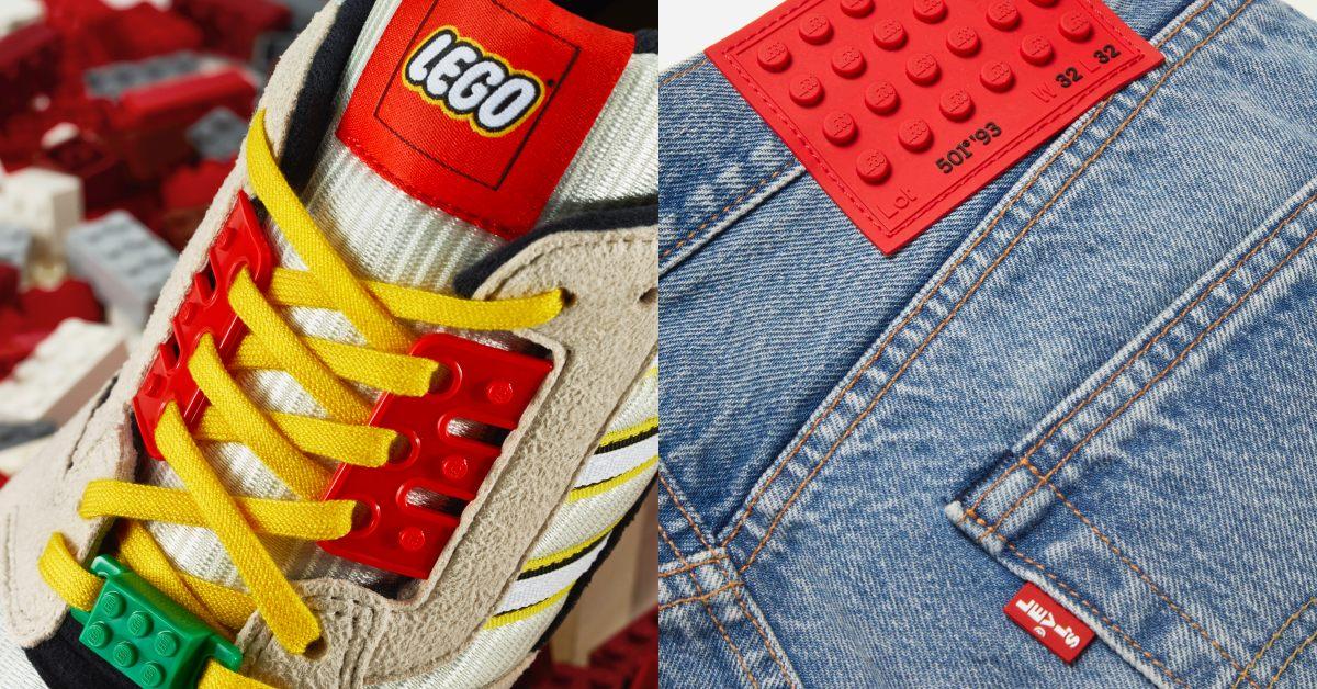 Adidas 、Levi's搶著跟它聯名!Lego樂高跨界時尚,每個單品都像積木一樣酷,