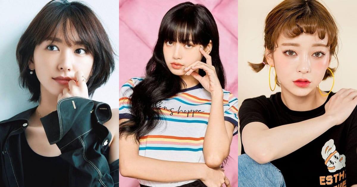 瀏海整理5大重點!韓國星級髮型師指點,圓臉變小臉得靠胎毛瀏海!