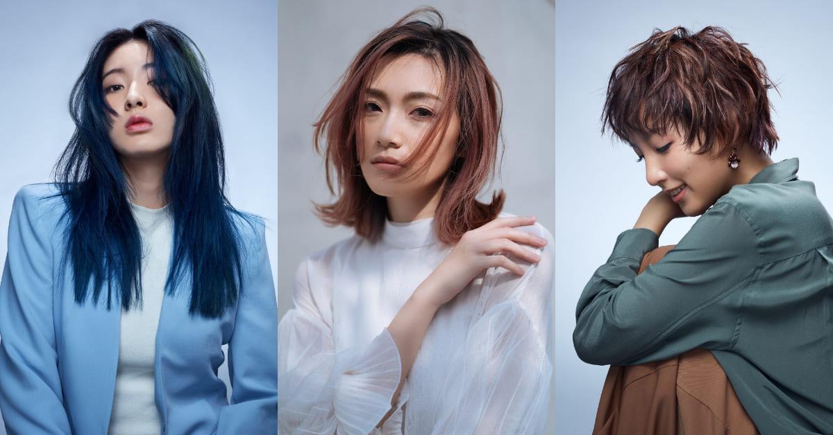 2021春夏髮色推薦Top5!美髮造型師都愛玫瑰棕、焦糖色、無花果紅...顯小臉髮型要這樣做
