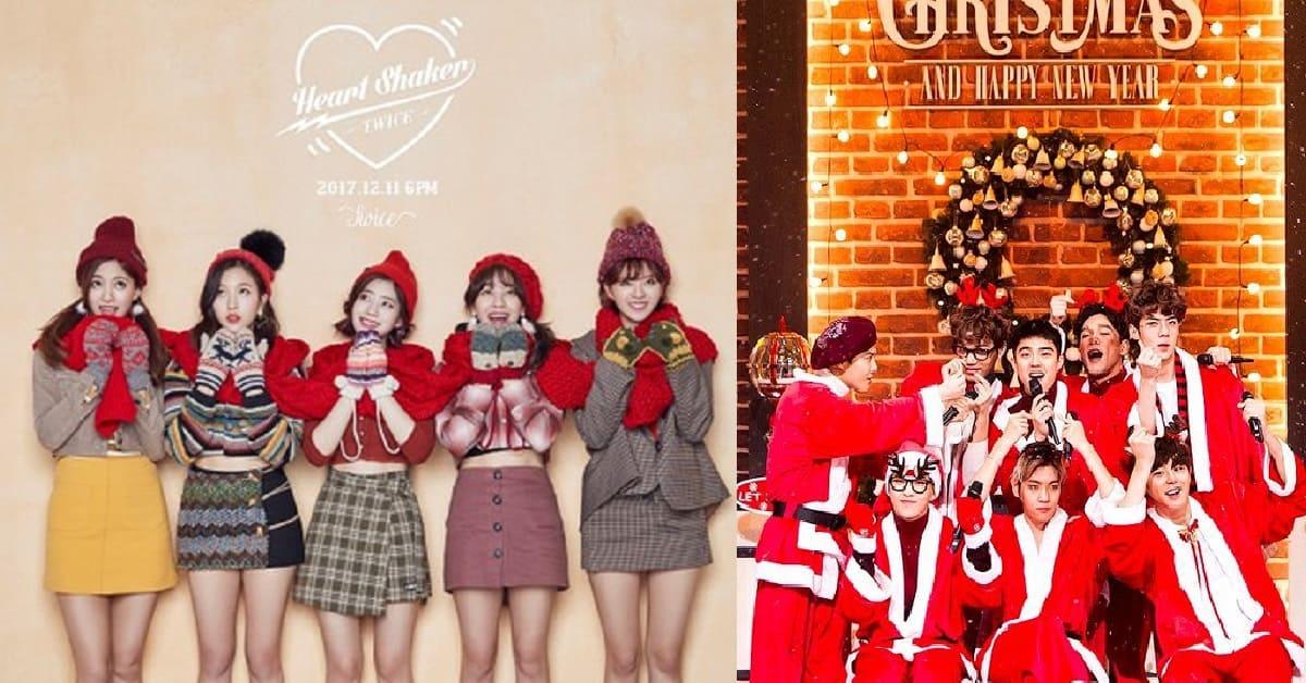 2018韓星聖誕歌單推薦!EXO、TWICE用溫暖嗓音陪你過Christmas
