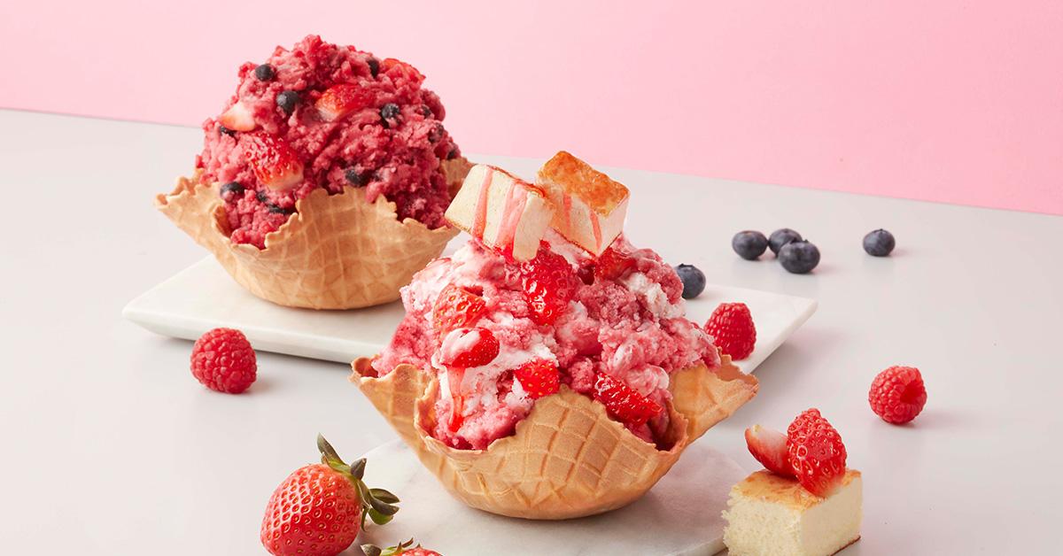 COLD STONE推出草莓新品!草莓起司交響曲、繽紛野莓好拍又好吃