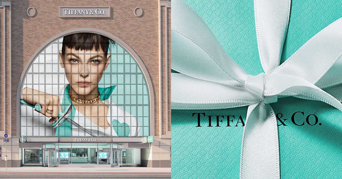 LV、Tiffany正式成為一家人!成立183年,美國經典珠寶品牌與Dior、Bvlgari...從此變親戚
