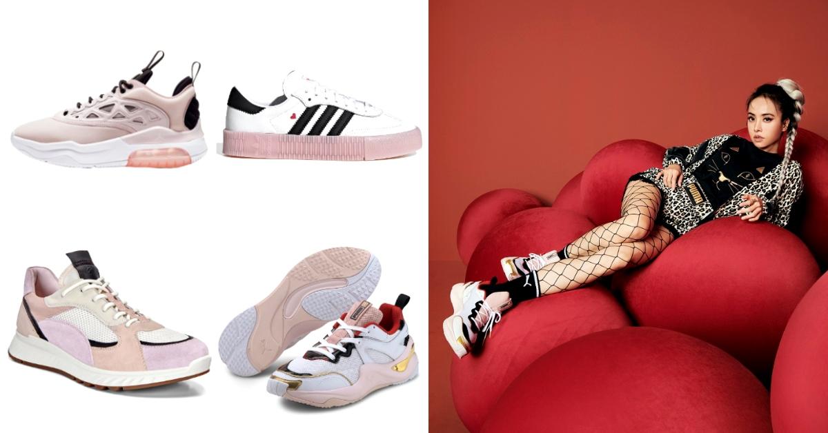 2020春夏大勢色「草莓奶昔」擊敗小白鞋?蔡依林不撞鞋全靠它,穿出時尚粉嫩感